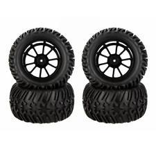 4x MagiDeal RC pneu pneus et jante roue Fit HSP 1:10 RC sur route Traxxas