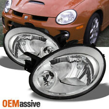 2003-2005 Dodge Neon Replacement Headlights Headlamps Lights Left+Right 03 04 05