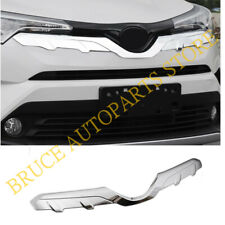 ABS Chrome Front Upper Grille Molding Cover Trim For Toyota CHR C-HR 2016-2019