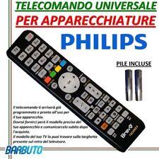 TELECOMANDO UNIVERSALE PER APPARECCHI MARCA PHILIPS - INVIARE CODICE MODELLO TV