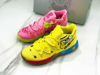 Kyrie Spongebob SquarePants Patrick Yellow and Pink Shoes Basketball Shoes New