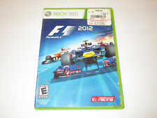 F1 2012  for  Xbox360  Used in Very Good  condtion  With Manual Free Shipping