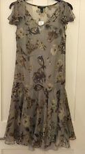 Lauren Ralph Lauren Dress, New With Tags, UK 14, RPP £170, Wedding, Party, Date