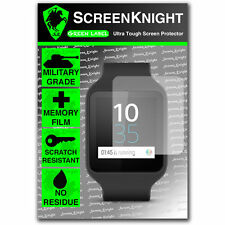 ScreenKnight Sony Smart Watch 3 SWR50 SCREEN PROTECTOR invisible military shield