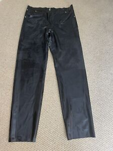Mens CATHOUSE Latex/Rubber Trousers Size L Fetish