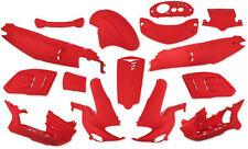 Verkleidung Verkleidungsset 15 Verkleidungsteile in Rot Matt für Gilera Runner