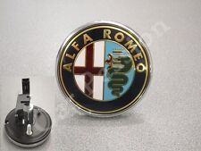 fregio stemma logo ALFA ROMEO 159 POSTERIORE ORIGINALE pulsante REAR EMBLEM