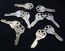 (5) pair ORIGINAL   precut   KWIKSET  KW-1 keys. LOCKSMITH. Free Shipping
