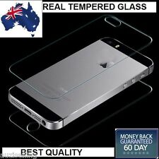Front and Back Tempered Glass Screen Protector Guard for Apple iPhone 4 4S
