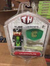 Tube Heroes Caveman Films Pack Figure For Minecraft Players