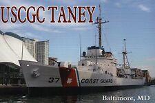 USCGC Taney Baltimore Maryland, US Coast Guard Ship, Pearl Harbor, MD - Postcard