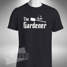 The Gardener Mens T Shirt God Father Style Garden Tradesman Landscaping Hobby