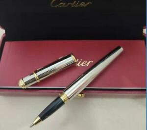 Luxury 14k gold plated silver Rollerball Pen classic design