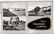 Postkarte Osterrönfeld bei Rendsburg (1961)