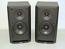 2x Bowers & Wilkins B&W DM302 Prism Stereo Lautsprecher, Schwarz, 2J. Garantie