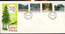 New Zealand 1975 Forest Parks FDC First Day Cover #C12914