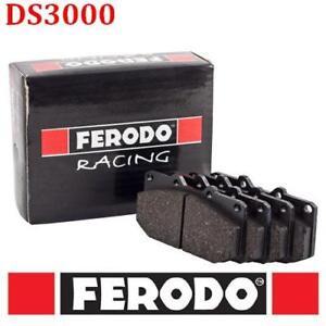 29A-FCP406R PASTIGLIE/BRAKE PADS FERODO RACING DS3000 RENAULT Clio II 2.0 i RS