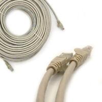 50m Meter RJ45 Cat6 Network LAN Cable Gigabit Ethernet Patch Lead Modem PC Fast