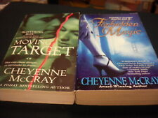 Moving Target + Forbidden Magic by Cheyenne McCray   r