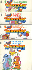 WUZZLES - COMPLETE SET OF 4 BOOKS - DISNEY HASBRO - 1986 TARGET PB 1st Edns