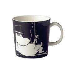 Moomin Mug Moominpappa Black Discontinued Arabia