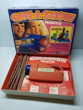 Vintage Give-a-show Projector Featuring Scooby Doo Tested Working 1976 Kenner
