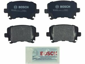 For 2005-2011 Audi A6 Quattro Brake Pad Set Rear Bosch 97824TZ 2006 2007 2008