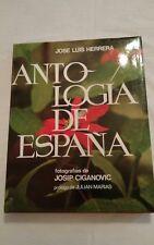 """LIBRO, """"ANTOLOGÍA DE ESPAÑA, PRECIOSO, VER"""