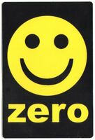 Zero Smiley Skateboard Sticker skate snow surf board bmx guitar van sk8 skating
