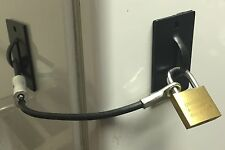 Refrigerator Mini Fridge Kegerator Lock Black