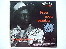 ATAULFO ALVES - LEVA MEU SAMBA LP 1st MONO 1958 BRAZIL VOCAL MPB FOLK JAZZ EX