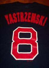 VINTAGE BOSTON RED SOX CARL YASTRZEMSKI # 8 MLB T-Shirt SMALL NEW w/ TAG