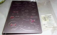 Sanrio Hello Kitty Metal Embossed Organizer New In Original Plastic Wrap RARE!
