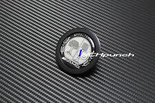 Black Flat Hood Emblem Badge Kit For Mercedes AMG W204 W205 W212 C E C250 E350