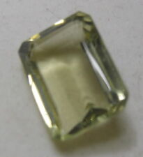 BEAUTIFUL 30CT RECTANGLE  SHAPE  NATURAL LEMON TOPAZ GEM STONE FROM SRI LANKA