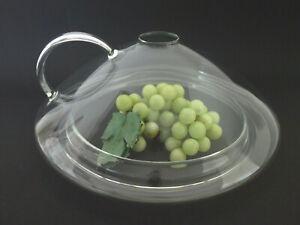 Brathaube / Pfannen Spritzschutz Glas 24 - 28 cm TOP