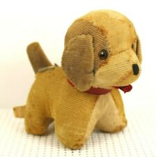 """Vintage Antique Dog Pin Cushion 60"""" Tape Measure Tongue Made In Japan"""