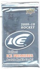 """1-2009-10 """"UPPER DECK ICE NHL"""" SCRIPTED/SIGNATURE SWATCH HOBBY HOT PACK"""