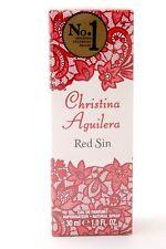 CHRISTINA AGUILERA Red Sin EAU DE PARFUM Vaporisateur NATURAL SPRAY 30 ml NEU