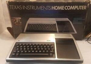 Vintage Texas Instruments TI-99/4A Home Computer