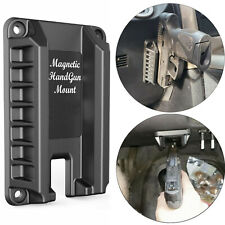 Magnetic Gun Mount Handgun for Vehicle Home or Office Magnet Firearm Accessories
