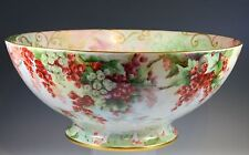 """14.5""""  LARGE HAND PAINTED PUNCH BOWL"""