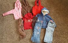 babygap girls sweatshirts jeans outfit size 2t 18 24 months baby gap embroidered