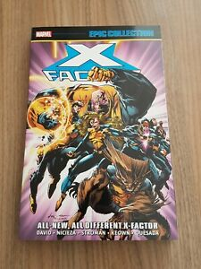 X-FACTOR EPIC COLLECTION: ALL-NEW ALL DIFFERENT Marvel epic 7 NEW oop x-men hulk