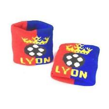 Lot de 2 bracelets poignet éponge LYON, OL