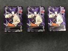 Naruto CCG Anko Mitarashi Avengers Wrath Promo x3 Play Set Naruto Card