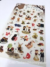 Cute Kawaii Stickers Little Fox Deco Diary Journal Scrapbook Planner Supplies