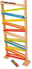 Click Clack? Rennbahn Murmelbahn Klassiker aus Holz ab 3 Jahre Kinder Lernspiel