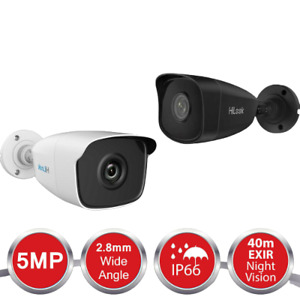 HIKVISION 5MP CAMERA HILOOK CCTV 4IN1 5MP BULLET 40M IR NIGHT VISION THC-B250