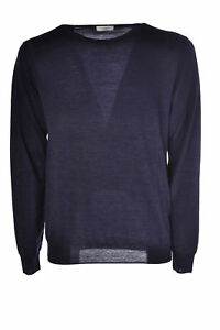 Paolo Pecora  -  Sweaters - Male - Blue - 2795430N173637